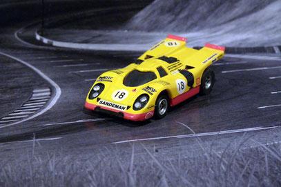 Faller AMS AURORA AFX Porsche 917k Team A.A.W David Piper