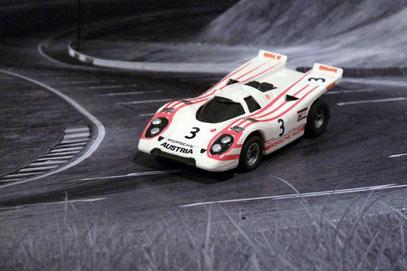 Faller AMS Aurora AFX Porsche 917k Team Salzburg