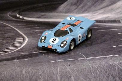FALLER AMS AURORA AFX Porsche 917k Gulf