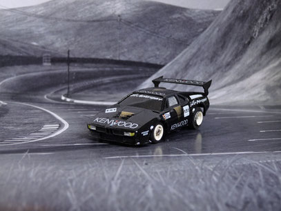 AURORA AFX BMW M1 ProCar Team MK-Motorsport #151, Nürburgring 1986