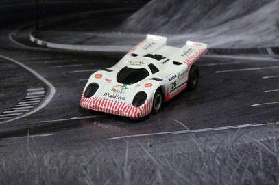 Faller AMS AURORA AFX Porsche 917k Maldevis Cup