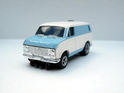 Faller AMS AURORA Ford Street Van weiß / blau
