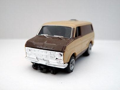 Faller AMS AURORA AFX Ford Street Van beige / braun