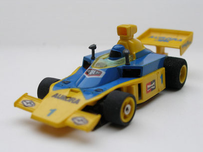 AURORA AFX G-Plus McLaren F1 blau/gelb #1