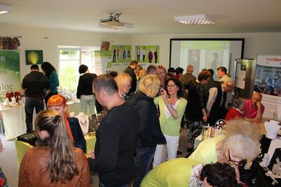 über 400 interessierte Besucher waren an diesem Tag dabei