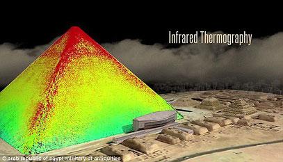 Infrarot-Thermografie-Aufnahme