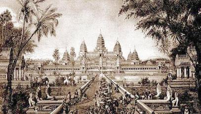 Angkor Wat in 1880