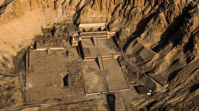 Der Totentempel der Hatschepsut nahe Luxor.