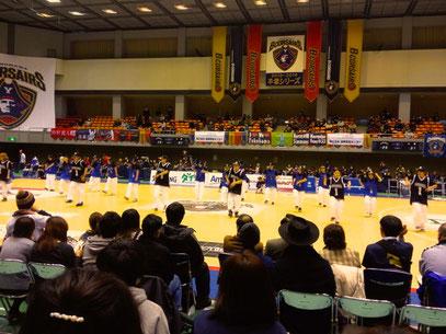 横浜ビー・コルセアーズ ホームゲーム パフォーマンス出演