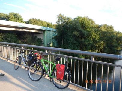 Brücke bei Arnsberg.