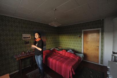 そして、もうひとつ、この素敵な家にもそこはかとなく、不安を感じさせるものがあったのです。