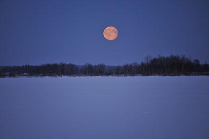 正午の満月