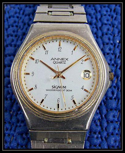 alte Quartz Uhr