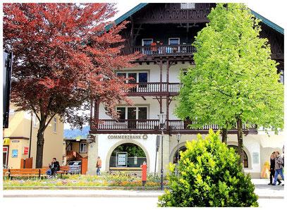 Garmisch wurde fußläufig besichtigt