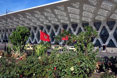 Marrakesch-Menara Airport, 2006-2008. E2A Architecture Zürich