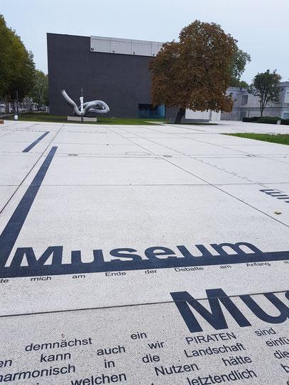 Saarlandmuseum in Saarbrücken vor der Wiedereröffnung am 18. 11. 2017