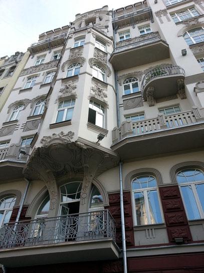 Beispiel eines restaurierten Bürgerhauses