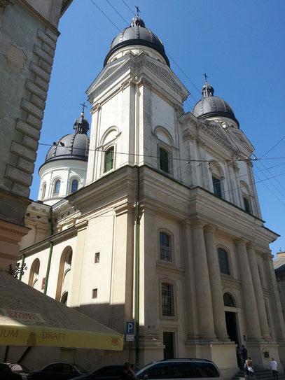 Christi-Verklärungs-Kirche von 1906, seit 1990 giechisch-orthodox