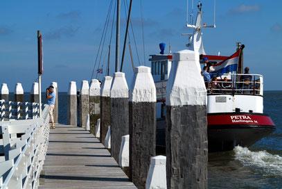 Ausfahrt der Marina von Vlieland