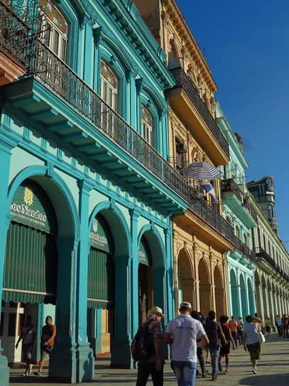 Paseo de Martí (Paseo del Prado), Flaniermeile von Havanna
