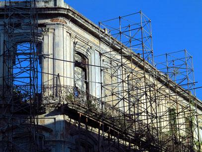 Sicherung einer Fassade
