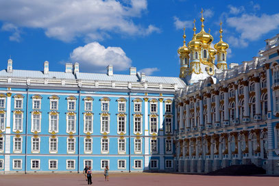 Zarskoje Selo war Kaiserin Katharina II. ...