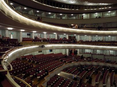 Teatr Wielki, Moniuszko-Saal mit 1.832 Plätzen, Blick vom 2. Amfiteatr