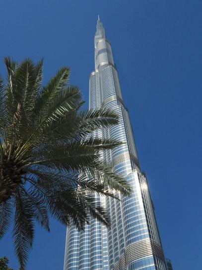 Burj Khalifa, Baubeginn 2004, Eröffnung 2010