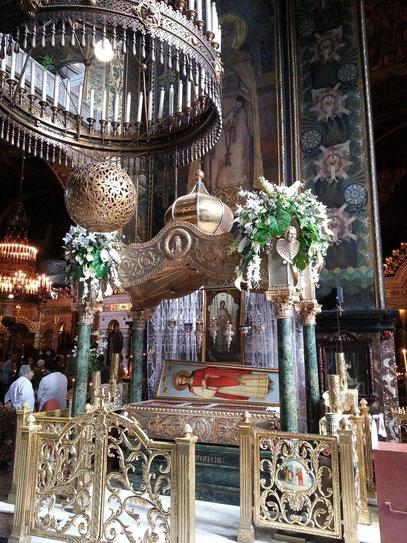 Volodymyr-Kathedrale, Reliqienschrein