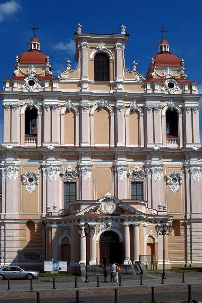 Kasimirkirche mit rosa-weißer Stuckfassade (1604-1618)