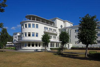 Pärnu, Ranna-Hotel von 1937, im Stil des Funktionalismus
