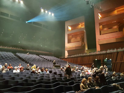 Philharmonie Luxemburg, Großer Konzertsaal mit 1307 Plätzen ...