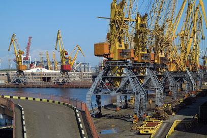 Hafengelände von Odessa