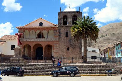 Kirche in kolonialem Stil in Urcos