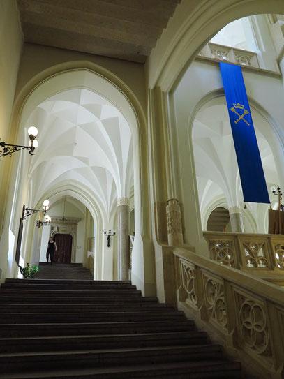 Treppenhaus im Collegium Novum