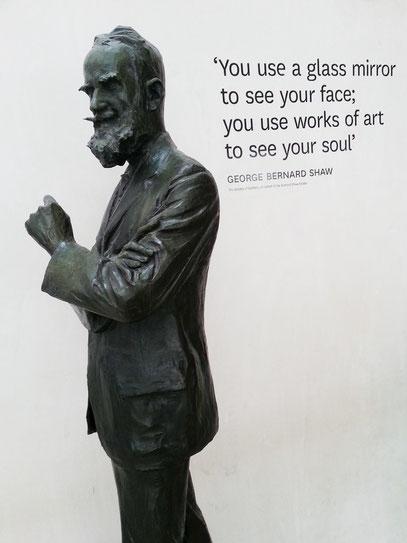 George Bernard Shaw, irischer Dramatiker, 1856 - 1950