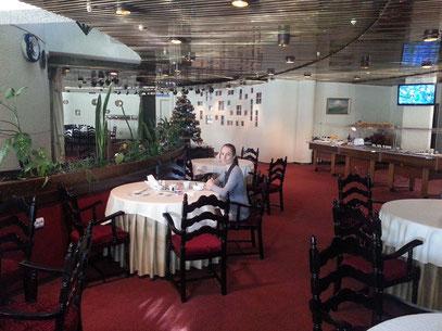 Hotel Salute, Restaurant