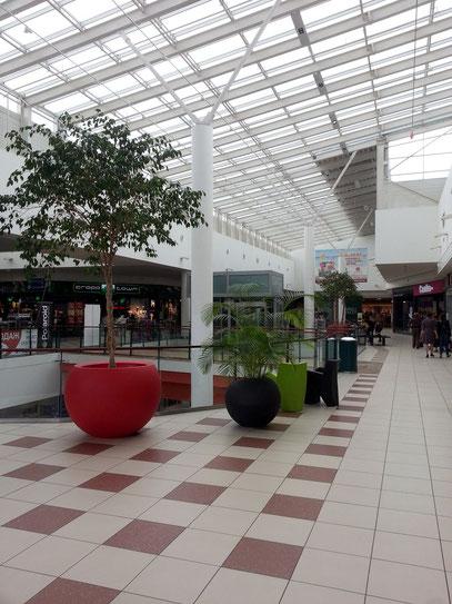 Obere Etage im Einkaufszentrum King Cross Leopolis