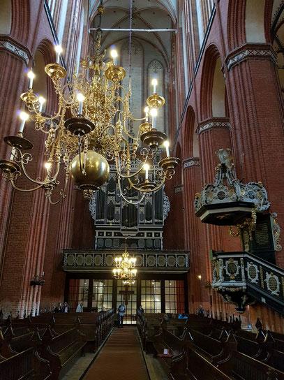 Kirche St. Nikolai, Kanzel von 1708