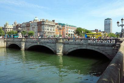 Prächtige O'Connell Bridge