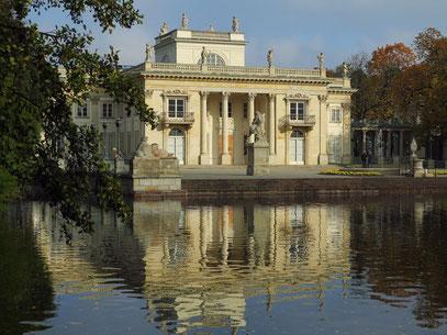 Łazienki-Palast, Umbau von 1793, Residenz von Stanisław II. August