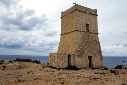 Wachtturm an der Bucht Gajn Tuffieha