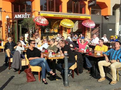 Restaurant Amrit in der Winterfeldtstraße in Schöneberg