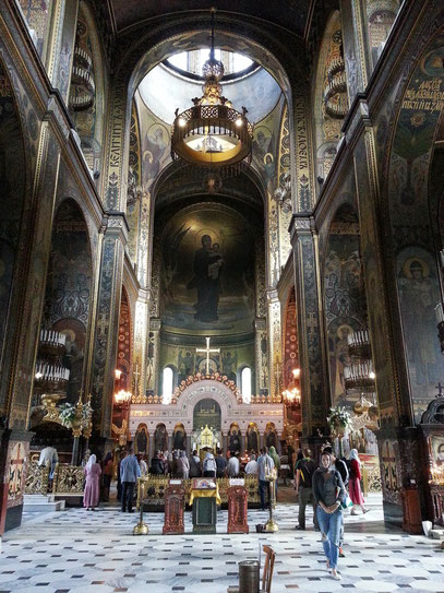 Volodymyr-Kathedrale, Hauptschiff, Fresken von Viktor Vasnecov