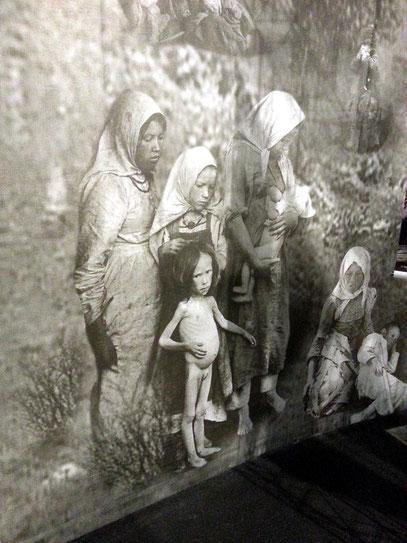 Unterirdisches Museum mit Ausstellung zum Holodomor