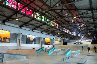 Skatehalle Berlin Friedrichshain, RAW-Gelände, 70 000 qm