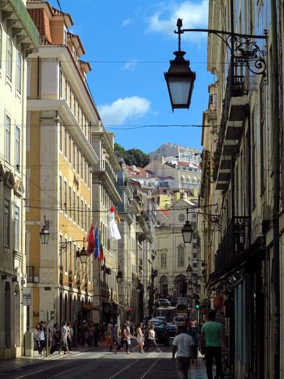 Baixa Pombalina, gebaut nach dem Erdbeben 1755