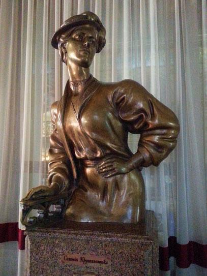 Solomiya Krushelnytska, berühmte Opernsängerin aus Lemberg