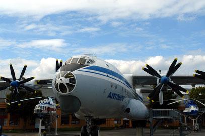Technik-Museum Speyer, begehbare Antonov An-22 Antey (Aufnahme von 2008)