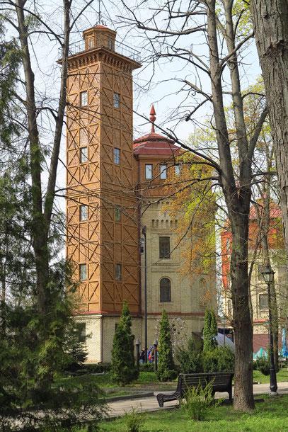Wassertürme im Chreschtschatyj-Park ...